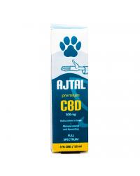 CBD drops Premium 5% for pets 10 ml