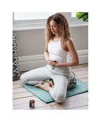 Cotton blanket for yoga