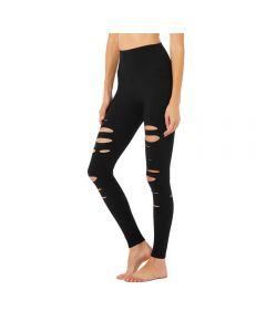Alo Yoga Ripped Warrior women's leggings