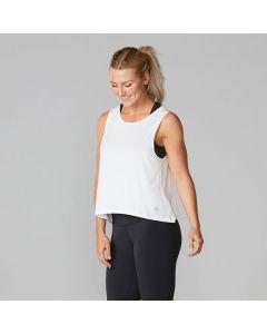 Women's T-shirt High Low Tank Tavi Noir