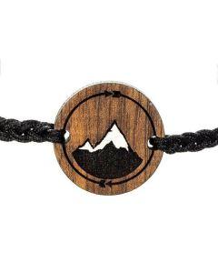 Lesena zapestnica Infinity