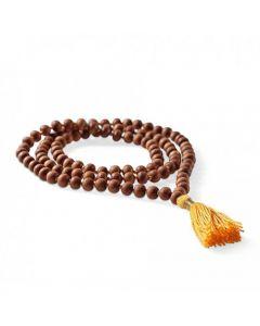 Mala Rudraksha, jogijski nakit - ogrlica mala Rudraksha