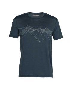 Merino men's T-shirt Spector Peak